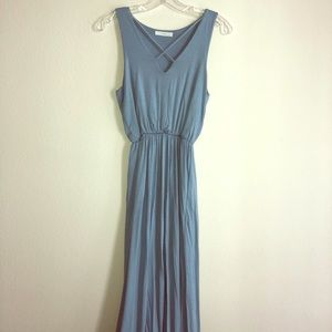 Lush Small Baby Blue Maxi Dress